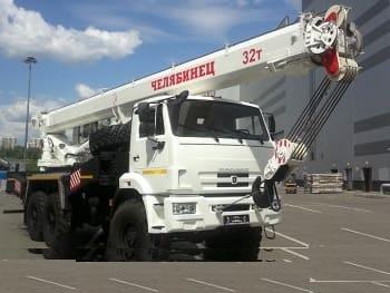 Автокран - КС-55733-32