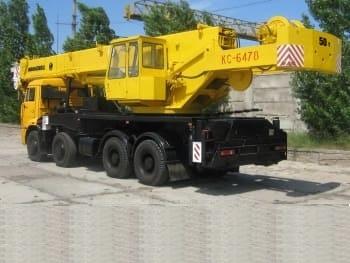 Автокран - КС-6478