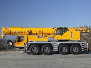 Автокран - LTM 1090-4.1