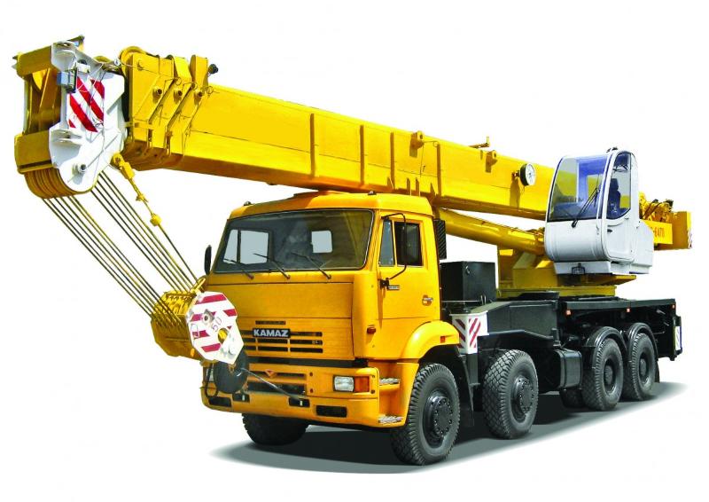 Автокраны грузоподъемностью 120 тонн