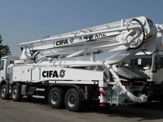 Бетононасос - CIFA K48 XRZ