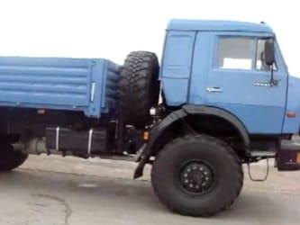 Бортовые автомобили - КАМАЗ 4326