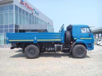 Бортовые автомобили - КАМАЗ 43502