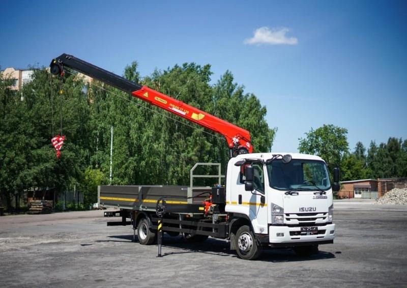 Услуги крана манипулятора с г/п 3-7 тонн