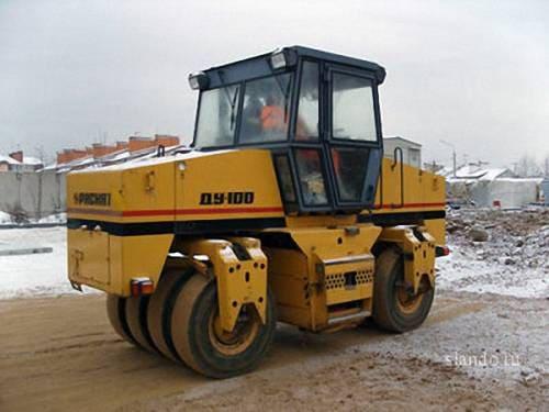 Виброкаток - ДУ-100